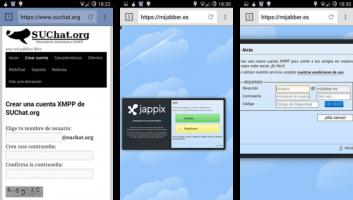 Guía Rápida de Mensajería Instantánea libre con XMPP/Jabber