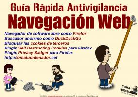 Guía Rápida Antivigilancia para Navegación Web