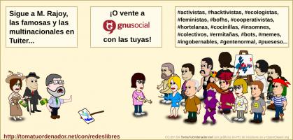 Sigue a M. Rajoy, las famosas y las multinacionales en Tuiter...